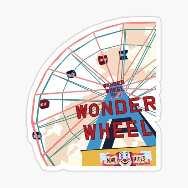Wonder Wheel Sticker