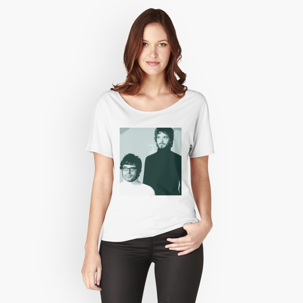 Flight of the Conchords- Family Portrait Women's Relaxed Fit T-Shirt Front