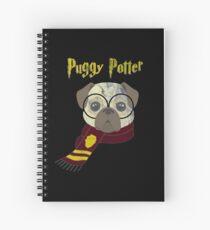 Cuaderno de espiral Camiseta mágica del barro amasado de la vida del pug