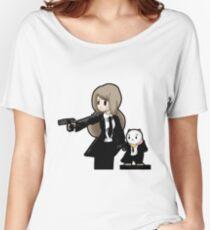 PuppyCat Fiction Women's Relaxed Fit T-Shirt