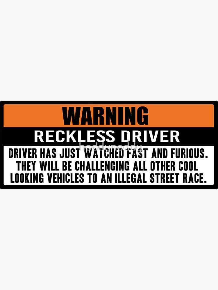 Warning - Fast and Furious by hoddynoddy