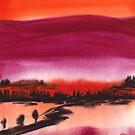 Summer Dusk by Ron C. Moss