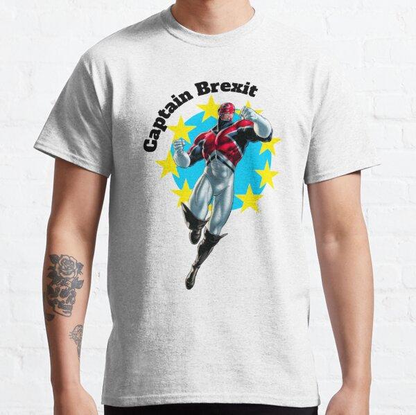 Captain Brexit - Funny Brexit tshirt - Fun Brexit t-shirt - Uk Brexit Shirt - Exit Brexit Shirt - No Brexit tshirt - United Kingdom Classic T-Shirt