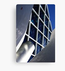 Building architecture and sculpture Canvas Print