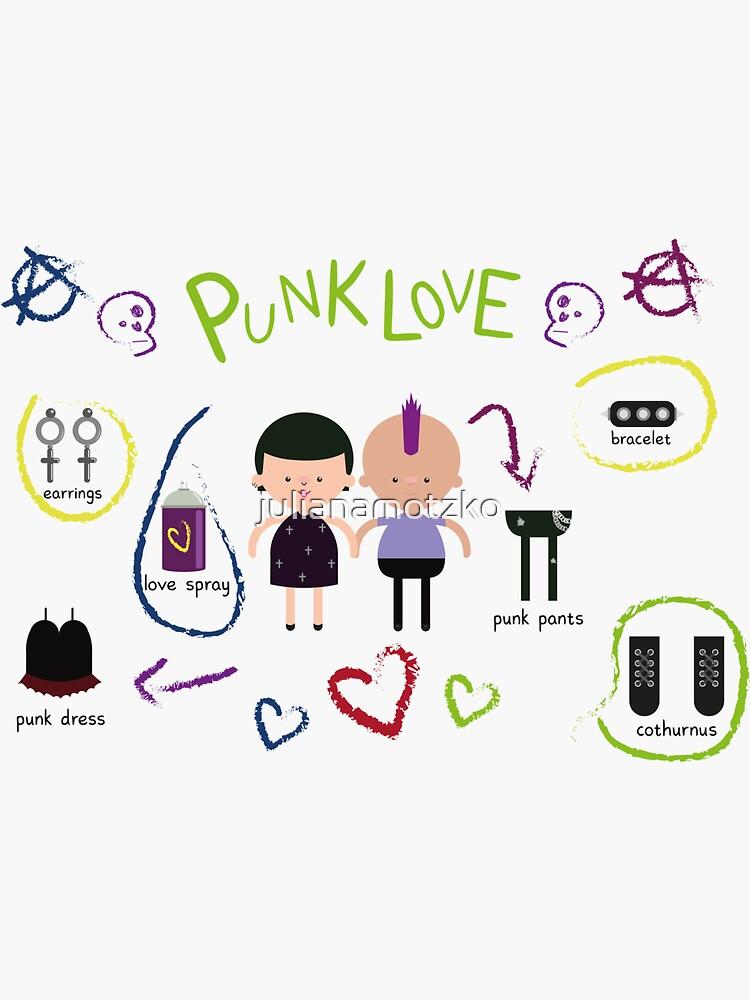 Punk Love by julianamotzko