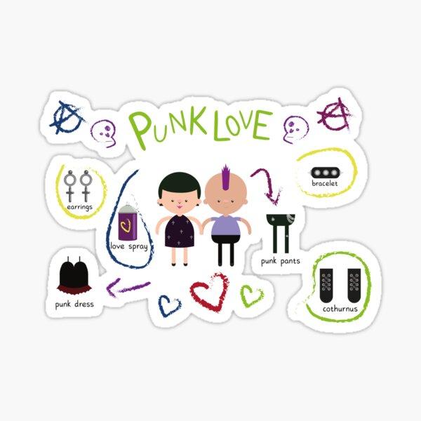 Punk Love Sticker