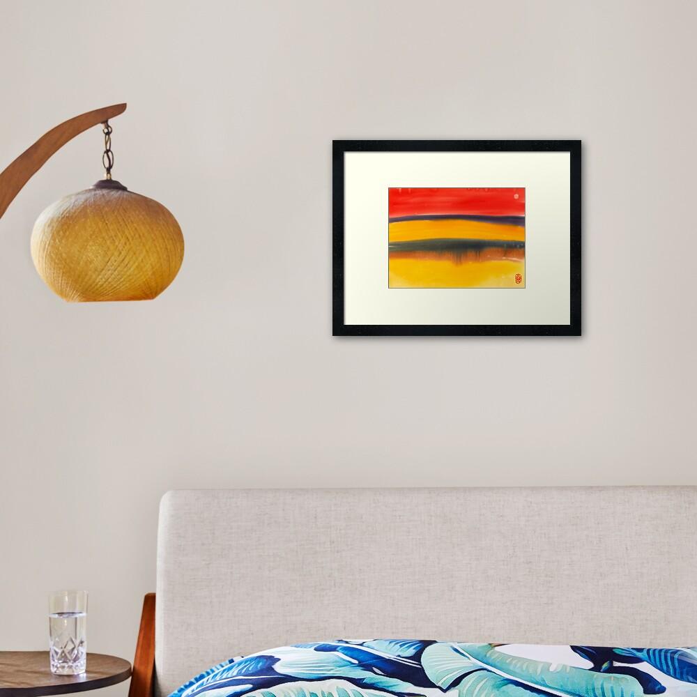 Beach Dreamer Framed Art Print