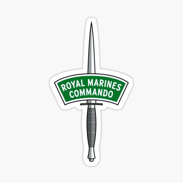 Royal Marines Commando Decal Sticker