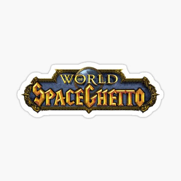 World of SpaceGhetto Sticker