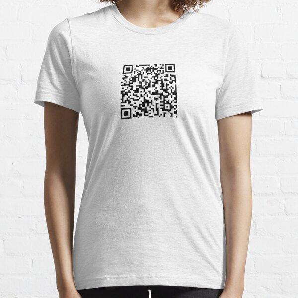 Rick Roll QR Camiseta esencial