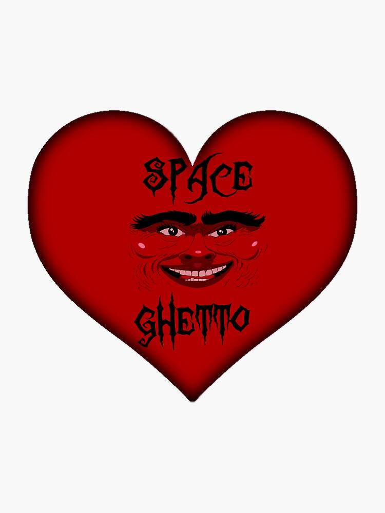 Spaceghetto Heart by nigamajiga