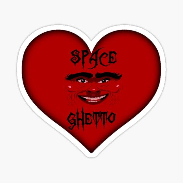 Spaceghetto Heart Sticker