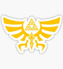 Triskele Triforce - Crest of Hyrule - Legend of Zelda Sticker
