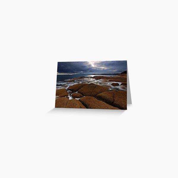 East Coast Granite Greeting Card