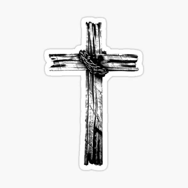 The Old Rugged Cross Sticker