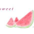Sweet Watermelon by LauraMuirhead