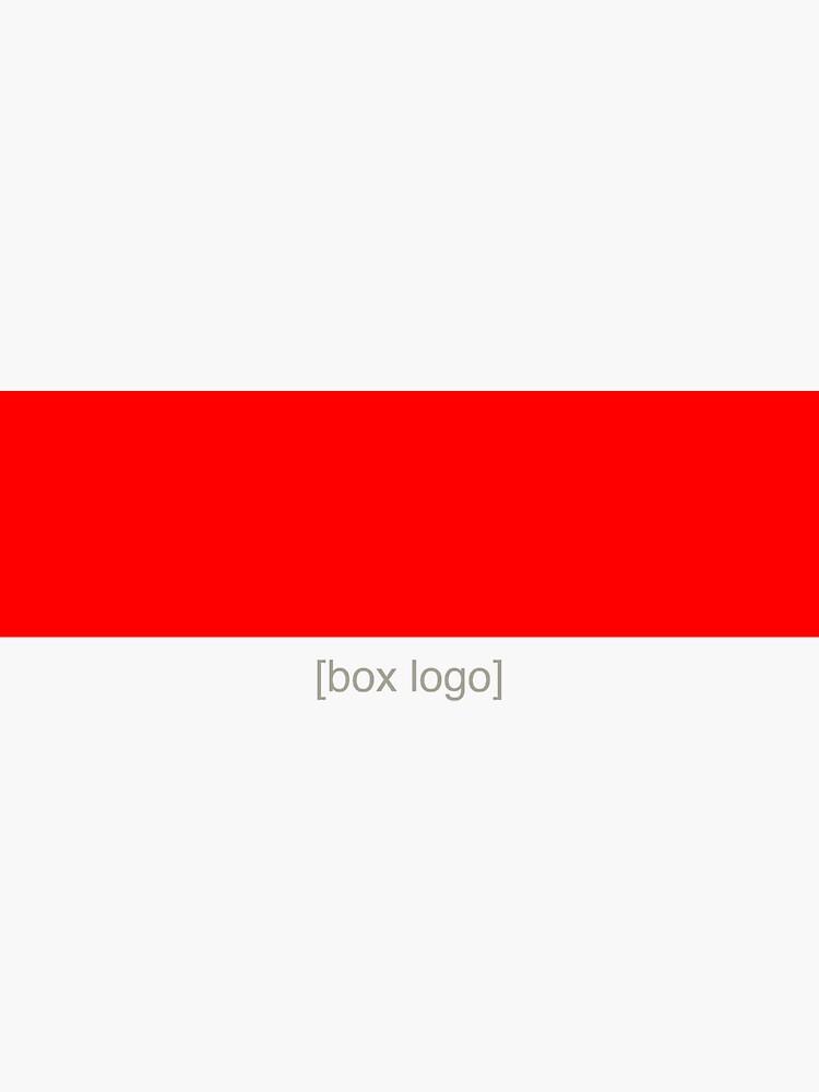 Red [Box Logo] by BoxLogoApparel