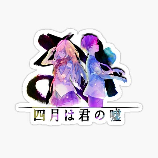 Shigatsu wa Kimi no Uso / colorido Pegatina