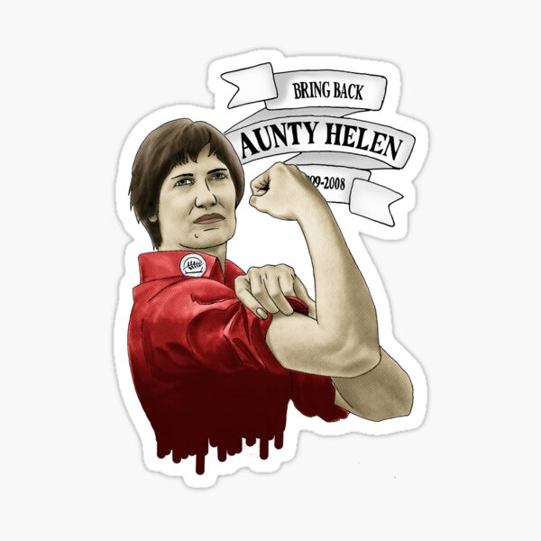 Bring Back Aunty Helen Sticker