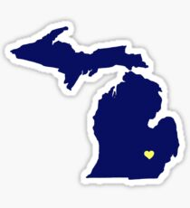 Ann Arbor - Michigan Sticker