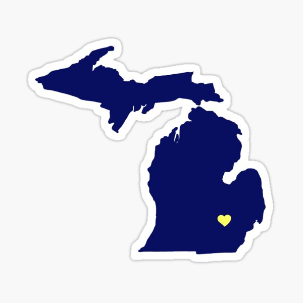 Ann Arbor - Michigan Sticker