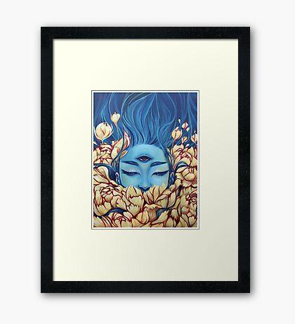Deosil Framed Print