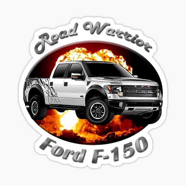 Ford F-150 Truck Road Warrior Sticker