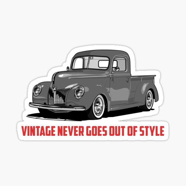 Vintage Style Sticker