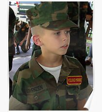 Young Marines Poster