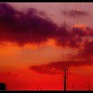 Red Sunset by SarahBelham