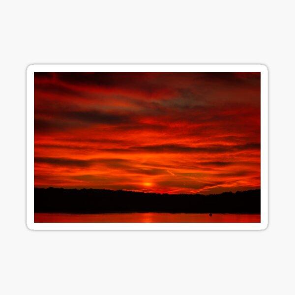 Dusk Burning Sunrise Sticker