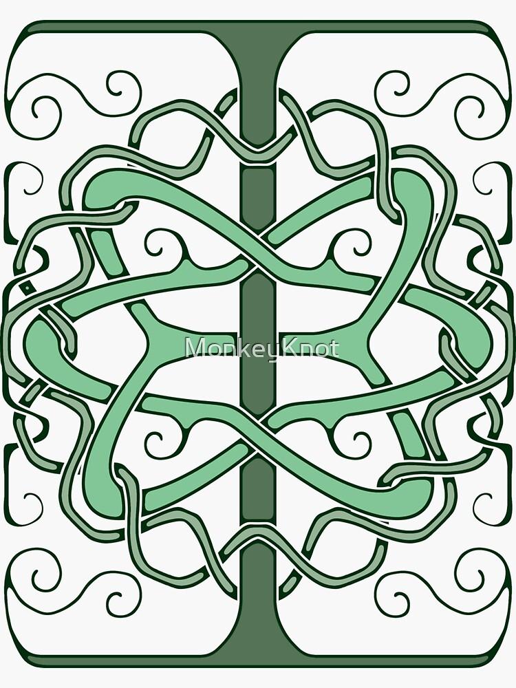 Celtic 'I' (Dark) by MonkeyKnot