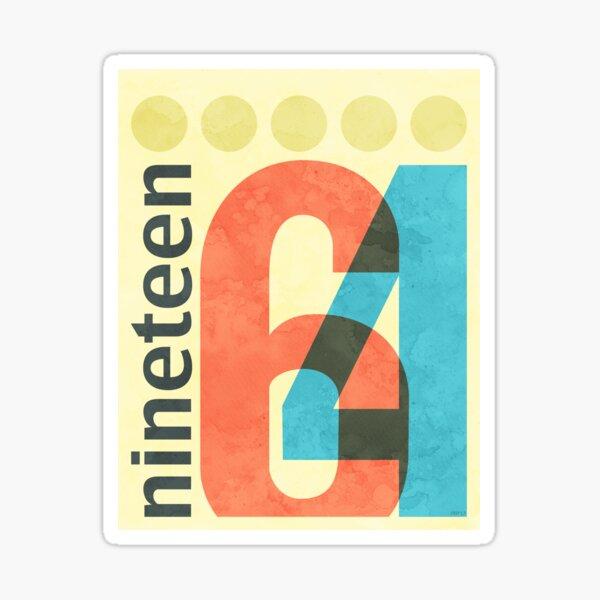 Nineteen 64 Sticker