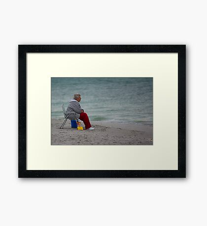 Penny For Your Thoughts Framed Print