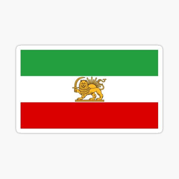 Flag of Iran, 1964-1979  Sticker