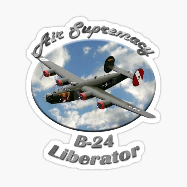 B-24 Liberator Air Supremacy Sticker