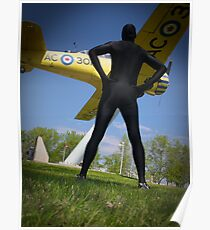 Black Airforce Way Zentai 2 Poster