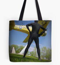 Black Airforce Way Zentai 2 Tote Bag