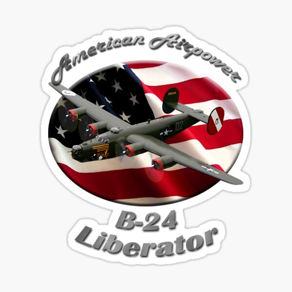 B-24 Liberator American Airpower Sticker