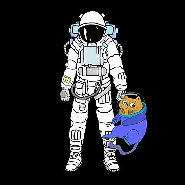 Astronaut and cat are best friends by phys