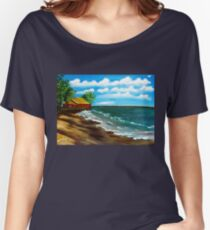 Down By The Shore Women's Relaxed Fit T-Shirt