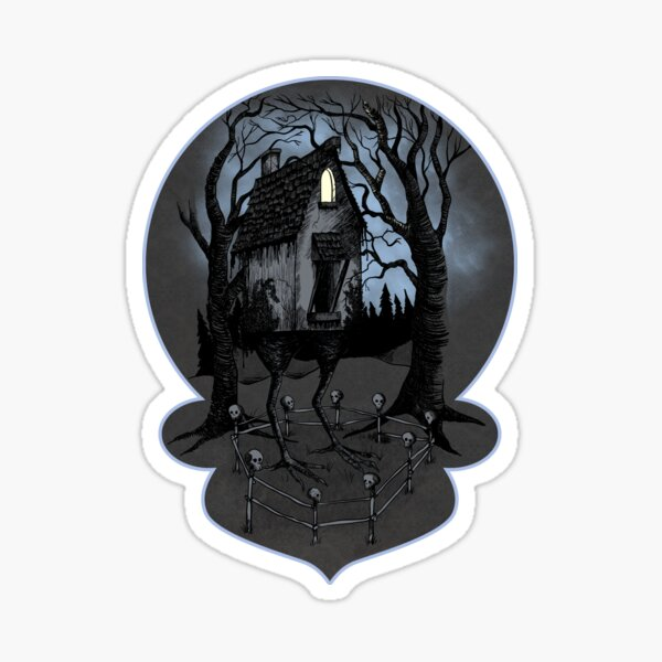 The House of Baba Yaga Sticker