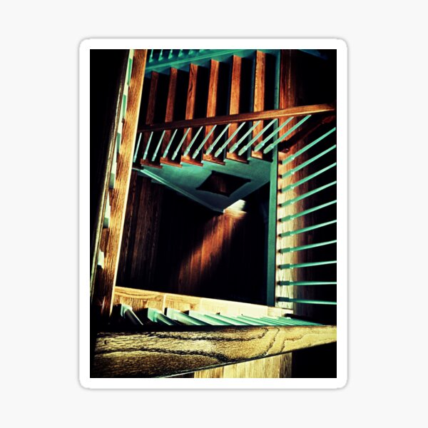 The Winding Staircase Sticker