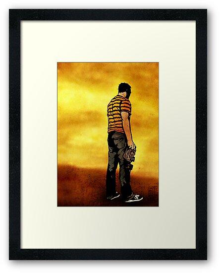 Leroy Unmasked (Print Version) by matthewdunnart