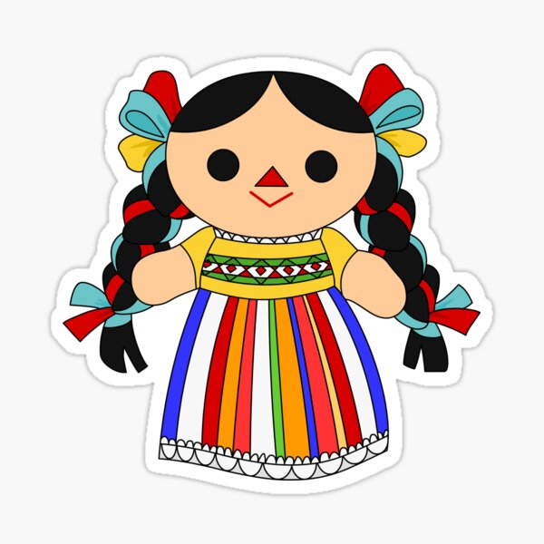 Maria 2 (Mexican Doll) Sticker