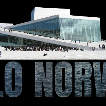 Oslo Opera House at the Harbour Norway Souvenir Gift by peter2art