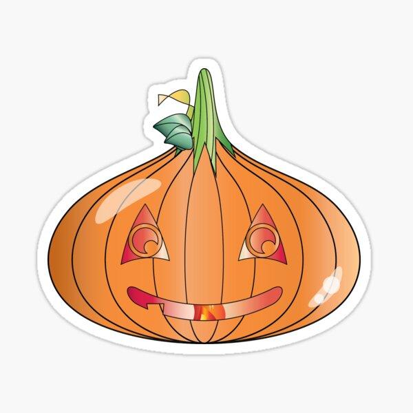 Halloween Approaches Slime-O-Lantern Sticker