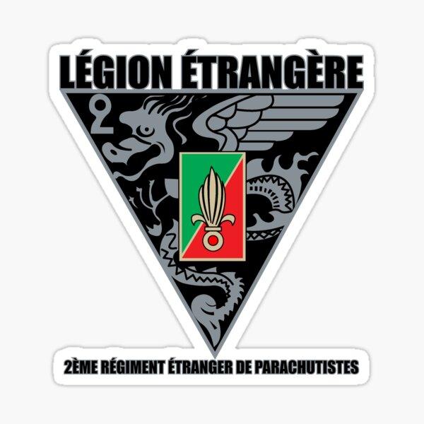 2 REP Légion étrangère Sticker