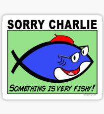 Charlie Sorry Glossy Sticker