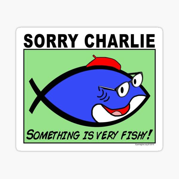Charlie Sorry Sticker